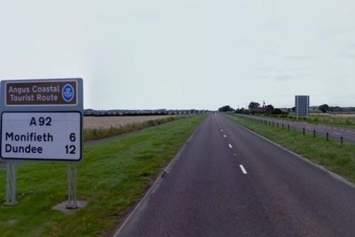 A92 highway