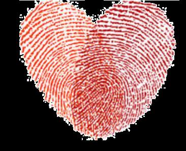 heart fingerprints